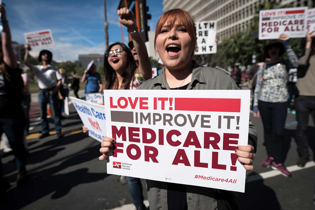 "Common Dreams – Urging Congress to Support Medicare for All, Groups Declare Universal Healthcare ""A Racial Justice Necessity"""